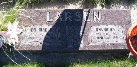 LARSEN, IDA MAE B. - Cache County, Utah   IDA MAE B. LARSEN - Utah Gravestone Photos