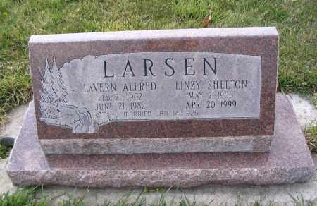 LARSEN, LINZY - Cache County, Utah | LINZY LARSEN - Utah Gravestone Photos