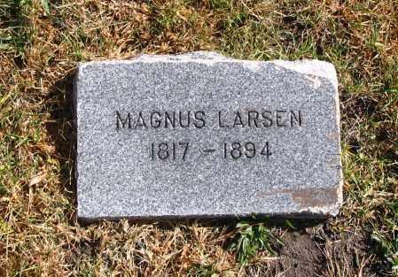 LARSEN, MAGNUS - Cache County, Utah   MAGNUS LARSEN - Utah Gravestone Photos