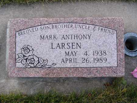 LARSEN, MARK ANTHONY - Cache County, Utah | MARK ANTHONY LARSEN - Utah Gravestone Photos