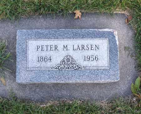 LARSEN, PETER M. - Cache County, Utah | PETER M. LARSEN - Utah Gravestone Photos