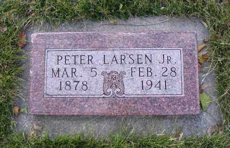 LARSEN, PETER, JR. - Cache County, Utah | PETER, JR. LARSEN - Utah Gravestone Photos