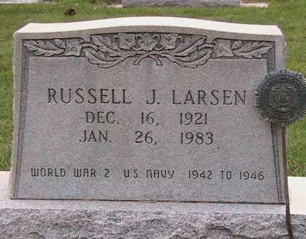 LARSEN, RUSSELL JAMES - Cache County, Utah | RUSSELL JAMES LARSEN - Utah Gravestone Photos