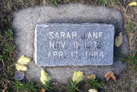 LARSEN, SARAH JANE - Cache County, Utah | SARAH JANE LARSEN - Utah Gravestone Photos