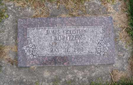 LAURITZEN, JAMES CHRISTIAN - Cache County, Utah | JAMES CHRISTIAN LAURITZEN - Utah Gravestone Photos