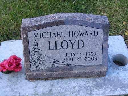 LLOYD, MICHAEL HOWARD - Cache County, Utah   MICHAEL HOWARD LLOYD - Utah Gravestone Photos