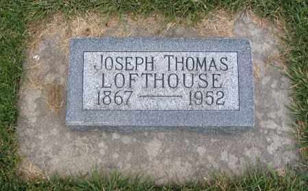 LOFTHOUSE, JOSEPH THOMAS - Cache County, Utah | JOSEPH THOMAS LOFTHOUSE - Utah Gravestone Photos