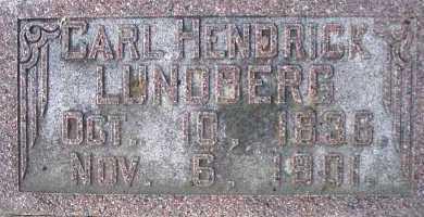 LUNDBERG, CARL HENDRICK - Cache County, Utah | CARL HENDRICK LUNDBERG - Utah Gravestone Photos