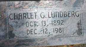 LUNDBERG, CHARLET - Cache County, Utah   CHARLET LUNDBERG - Utah Gravestone Photos