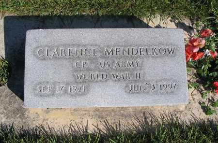MENDELKOW, CLARENCE (WWII) - Cache County, Utah | CLARENCE (WWII) MENDELKOW - Utah Gravestone Photos