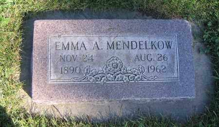 MENDELKOW, EMMA A. - Cache County, Utah | EMMA A. MENDELKOW - Utah Gravestone Photos