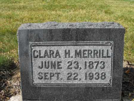 MERRILL, CLARA - Cache County, Utah | CLARA MERRILL - Utah Gravestone Photos