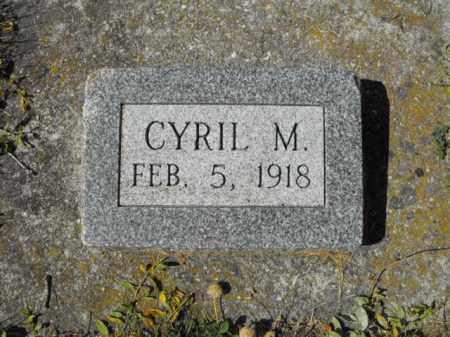 MERRILL, CYRIL - Cache County, Utah | CYRIL MERRILL - Utah Gravestone Photos