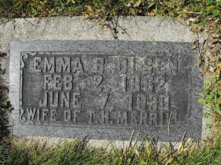 MERRILL, EMMA - Cache County, Utah | EMMA MERRILL - Utah Gravestone Photos