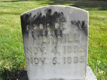 MERRILL, GEORGE - Cache County, Utah   GEORGE MERRILL - Utah Gravestone Photos