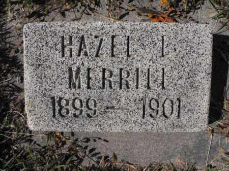 MERRILL, HAZEL - Cache County, Utah   HAZEL MERRILL - Utah Gravestone Photos