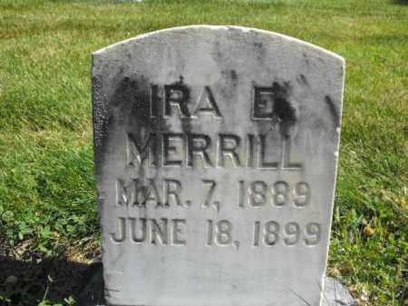 MERRILL, IRA - Cache County, Utah   IRA MERRILL - Utah Gravestone Photos