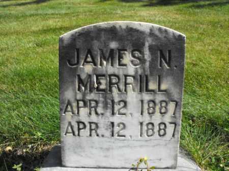 MERRILL, JAMES - Cache County, Utah | JAMES MERRILL - Utah Gravestone Photos