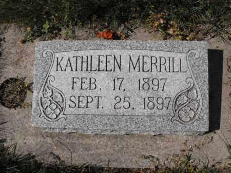 MERRILL, KATHLEEN - Cache County, Utah | KATHLEEN MERRILL - Utah Gravestone Photos