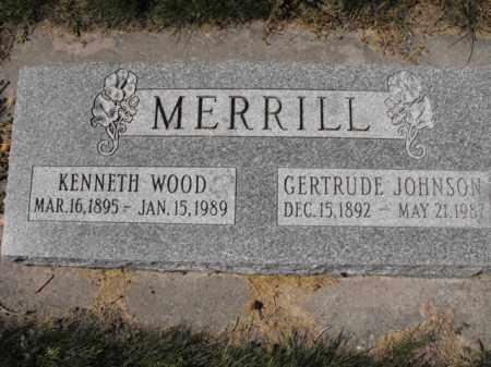 MERRILL, KENNETH - Cache County, Utah | KENNETH MERRILL - Utah Gravestone Photos