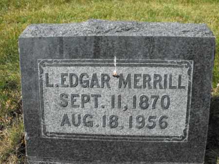 MERRILL, LOUIS - Cache County, Utah | LOUIS MERRILL - Utah Gravestone Photos