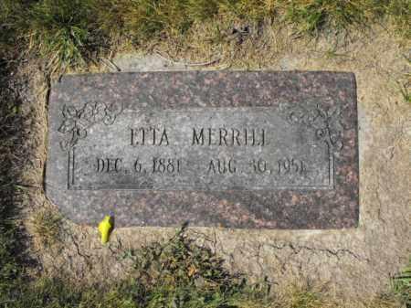 MERRILL, LUNANET - Cache County, Utah | LUNANET MERRILL - Utah Gravestone Photos