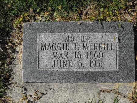 MERRILL, MAGGIE - Cache County, Utah   MAGGIE MERRILL - Utah Gravestone Photos