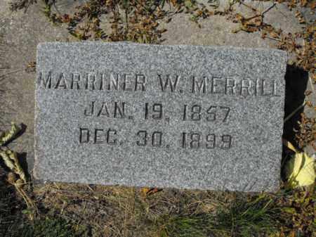 MERRILL, MARRINER - Cache County, Utah   MARRINER MERRILL - Utah Gravestone Photos