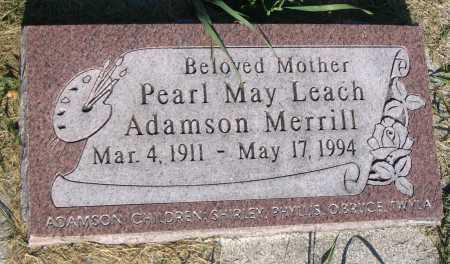 MERRILL, PEARL MAY - Cache County, Utah   PEARL MAY MERRILL - Utah Gravestone Photos