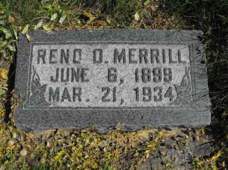 MERRILL, RENO - Cache County, Utah   RENO MERRILL - Utah Gravestone Photos