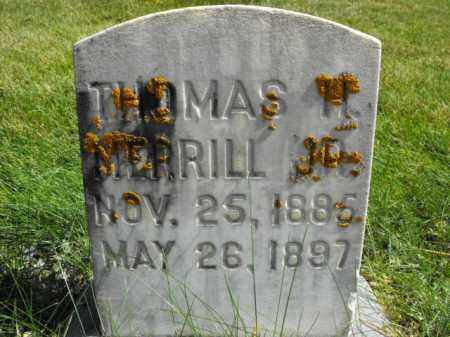MERRILL, THOMAS - Cache County, Utah | THOMAS MERRILL - Utah Gravestone Photos