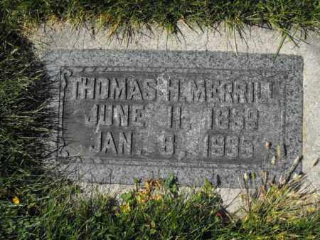 MERRILL, THOMAS - Cache County, Utah   THOMAS MERRILL - Utah Gravestone Photos