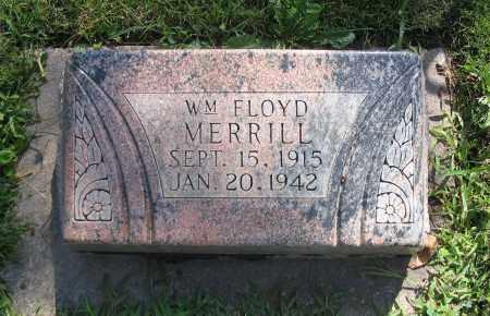 MERRILL, WILLIAM FLOYD - Cache County, Utah   WILLIAM FLOYD MERRILL - Utah Gravestone Photos