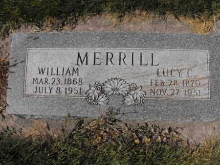 MERRILL, LUCY C - Cache County, Utah | LUCY C MERRILL - Utah Gravestone Photos