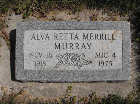 MERRILL, ALVA - Cache County, Utah | ALVA MERRILL - Utah Gravestone Photos