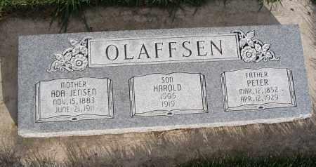 OLAFFSEN, PETER - Cache County, Utah | PETER OLAFFSEN - Utah Gravestone Photos