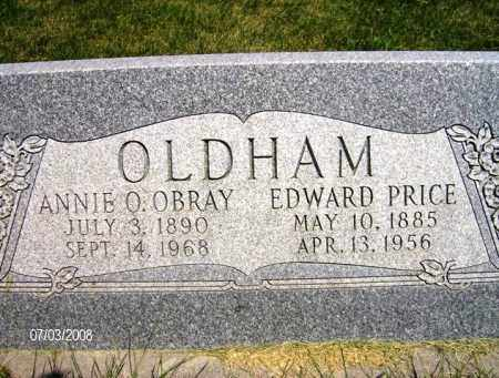 OLDHAM, EDWARD PRICE - Cache County, Utah | EDWARD PRICE OLDHAM - Utah Gravestone Photos