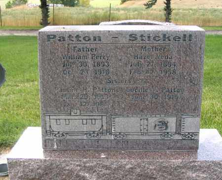 STICKELL PATTON, HAZEL VEDA - Cache County, Utah | HAZEL VEDA STICKELL PATTON - Utah Gravestone Photos