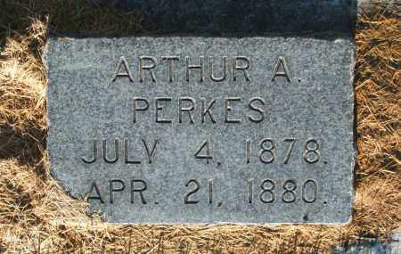 PERKES, ARTHUR A. - Cache County, Utah | ARTHUR A. PERKES - Utah Gravestone Photos