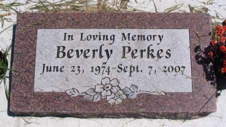 PERKES, BEVERLY - Cache County, Utah   BEVERLY PERKES - Utah Gravestone Photos