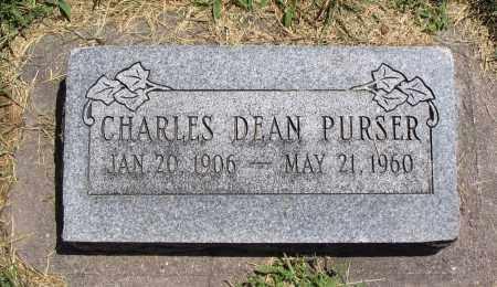 PURSER, CHARLES DEAN - Cache County, Utah   CHARLES DEAN PURSER - Utah Gravestone Photos