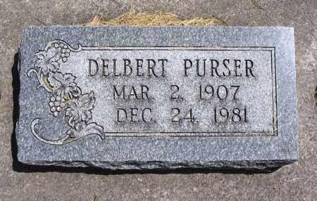 PURSER, DELBERT - Cache County, Utah | DELBERT PURSER - Utah Gravestone Photos