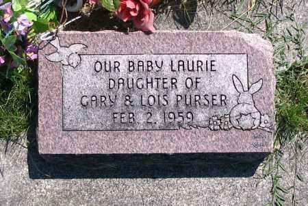 PURSER, LAURIE - Cache County, Utah   LAURIE PURSER - Utah Gravestone Photos