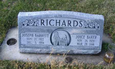BAKER, JOYCE - Cache County, Utah   JOYCE BAKER - Utah Gravestone Photos