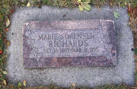 SORENSEN, MARIE - Cache County, Utah | MARIE SORENSEN - Utah Gravestone Photos