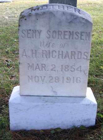 SORENSEN, SEMY - Cache County, Utah | SEMY SORENSEN - Utah Gravestone Photos