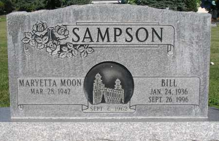 SAMPSON, BILL - Cache County, Utah | BILL SAMPSON - Utah Gravestone Photos