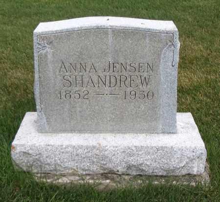 SHANDREW, ANNA - Cache County, Utah | ANNA SHANDREW - Utah Gravestone Photos