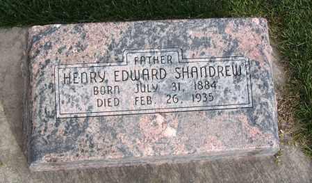 SHANDREW, HENRY EDWARD - Cache County, Utah   HENRY EDWARD SHANDREW - Utah Gravestone Photos