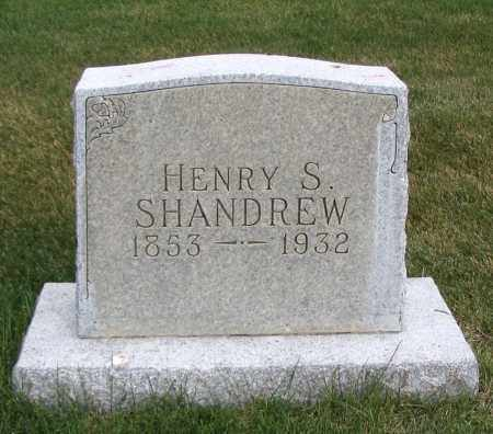SHANDREW, HENRY S. - Cache County, Utah | HENRY S. SHANDREW - Utah Gravestone Photos